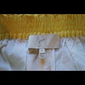 Joie Pineapple Linen Short
